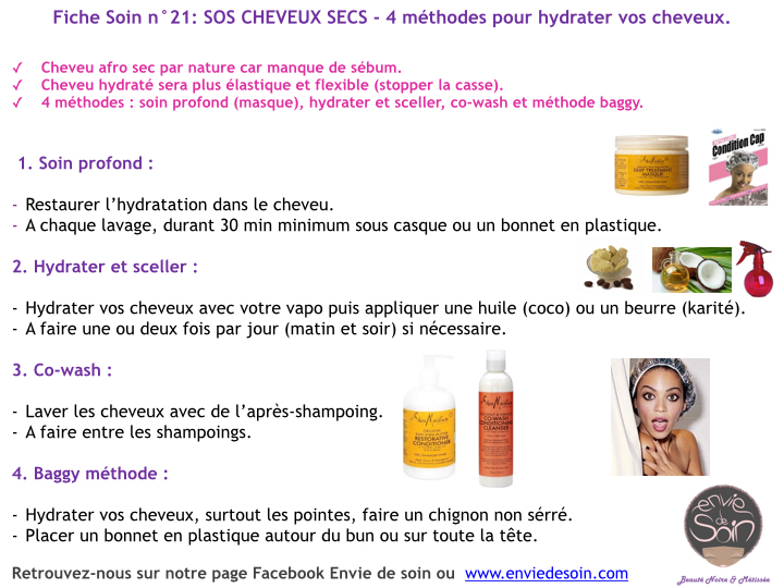 hydrater cheveux secs