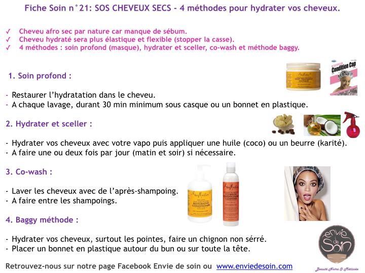 Fiche soin 21 Sos cheveux secs - 4 méthodes pour hydrater vos cheveux.001.jpg.001